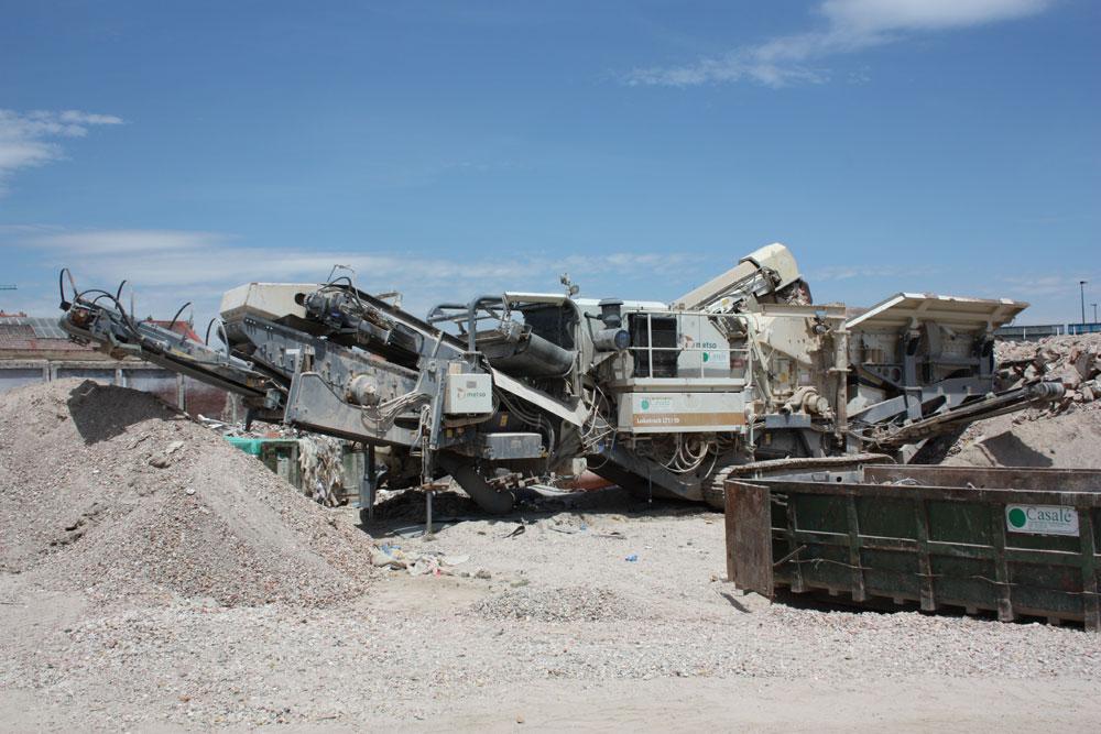 Reciclaje Residuos Demolición C.N.Helios